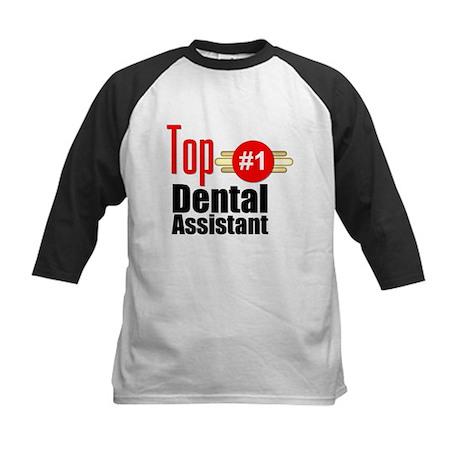 Top Dental Assistant Kids Baseball Jersey