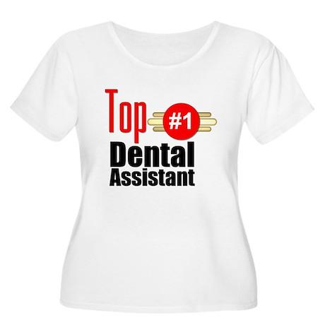 Top Dental Assistant Women's Plus Size Scoop Neck