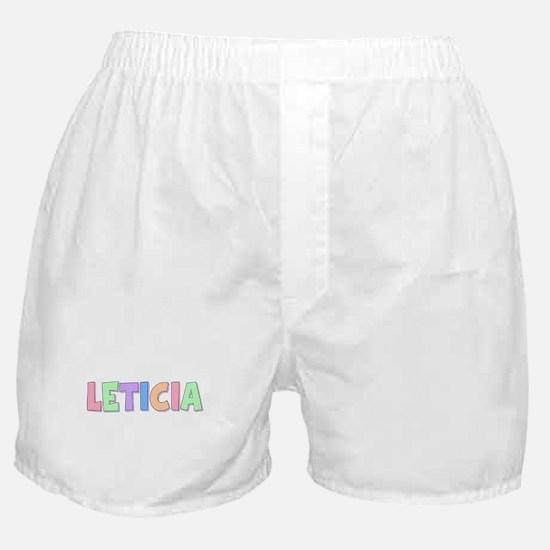 Leticia Rainbow Pastel Boxer Shorts