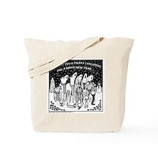 Dog Christmas Carols! Tote Bag