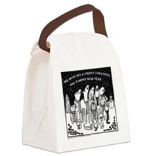 Dog Christmas Carols! Canvas Lunch Bag
