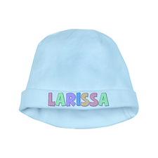 Larissa Rainbow Pastel baby hat