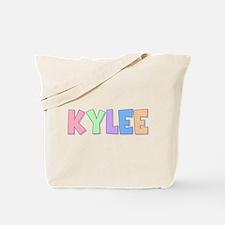 Kylee Rainbow Pastel Tote Bag
