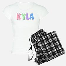 Kyla Rainbow Pastel Pajamas