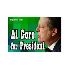 Al Gore for President Rectangle Magnet