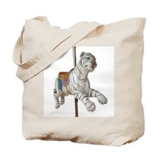 carousel tiger Tote Bag