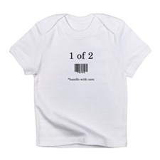 Funny Twin toddlers Infant T-Shirt
