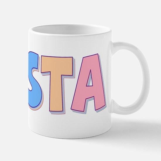 Krista Rainbow Pastel Mug