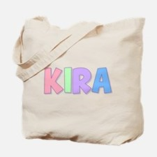 Kira Rainbow Pastel Tote Bag
