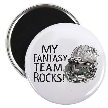 Fantasy Football Helmet Magnet