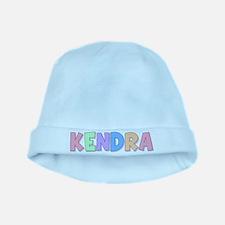 Kendra Rainbow Pastel baby hat