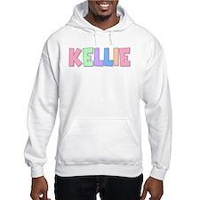 Kellie Rainbow Pastel Hoodie Sweatshirt