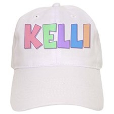 Kelli Rainbow Pastel Baseball Cap