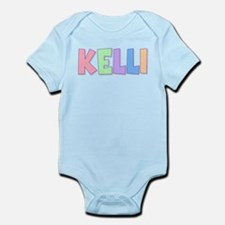 Kelli Rainbow Pastel Infant Bodysuit