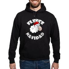 Fleece Navidad Hoodie