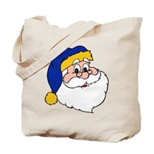 Mountaineer Santa Tote Bag