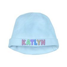 Katlyn Rainbow Pastel baby hat