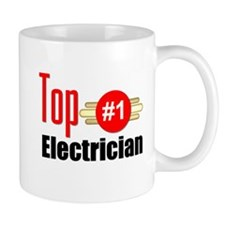 Top Electrician Mug