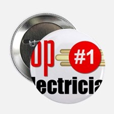 "Top Electrician 2.25"" Button"