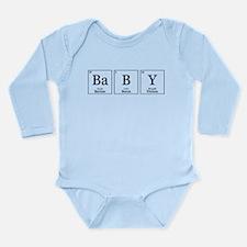 BaBY [Chemical Elements] Long Sleeve Infant Bodysu