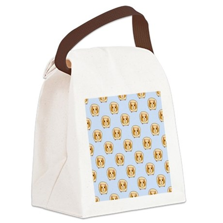 Guinea Pig Pattern. Canvas Lunch Bag