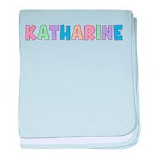 Katharine Rainbow Pastel baby blanket