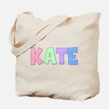 Kate Rainbow Pastel Tote Bag