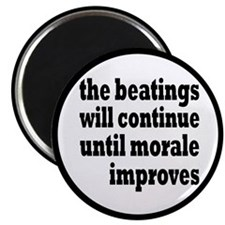 The Beatings Will Continue, Morale Magnet
