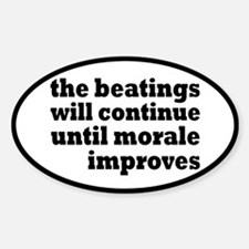 The Beatings Will Continue, Morale Decal