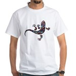 Cool Gecko 1 White T-Shirt