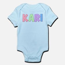 Kari Rainbow Pastel Infant Bodysuit
