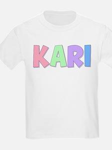 Kari Rainbow Pastel T-Shirt