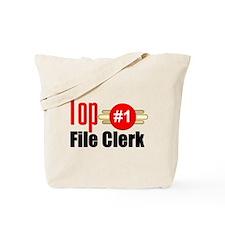 Top File Clerk Tote Bag