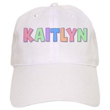 Kaitlyn Rainbow Pastel Baseball Cap