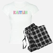 Kaitlin Rainbow Pastel Pajamas