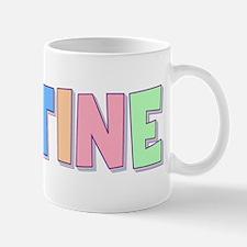 Justine Rainbow Pastel Small Small Mug