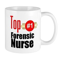 Top Forensic Nurse Mug