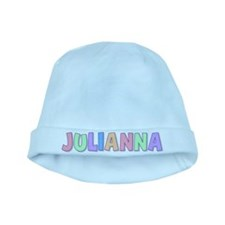 Julianna Rainbow Pastel baby hat