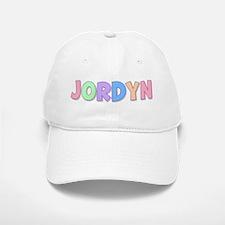 Jordyn Rainbow Pastel Baseball Baseball Cap