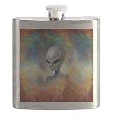 Alien Prism Nebula ~ Flask