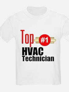 Top HVAC Technician T-Shirt
