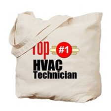 Top HVAC Technician Tote Bag
