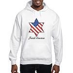 Jewish American Star Hooded Sweatshirt