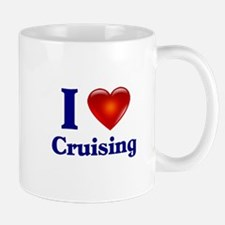 I Love Cruising Mug