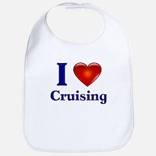 I Love Cruising Bib