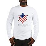 Jewish American Star Long Sleeve T-Shirt