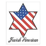 Jewish American Star Small Poster