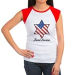 Jewish American Star Women's Cap Sleeve T-Shirt