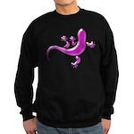 Pink Gecko Sweatshirt (dark)