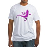 Pink Gecko Fitted T-Shirt